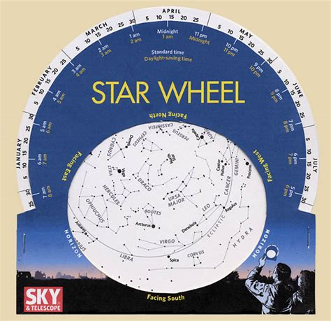 printable star map by date free how to make a star wheel and observe the night sky sky