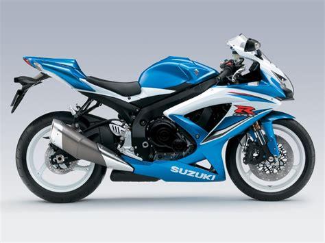 Blue Suzuki Suzuki Gsx R600 Review And Photos