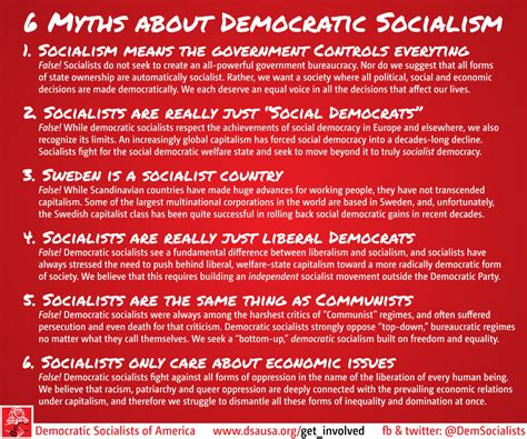socialism 2016 socialism in the air democratic socialists usa myths about democratic