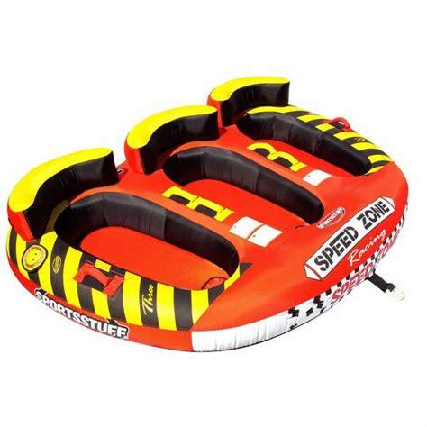 speed zone boat sportsstuff speedzone 3 person towable tube west marine