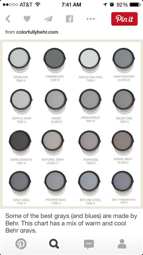 behr paint colors shades of gray 83 best paint images on wall colors wall