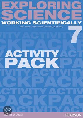 exploring science working scientifically bol com exploring science working scientifically activity pack year 7 mark levesley