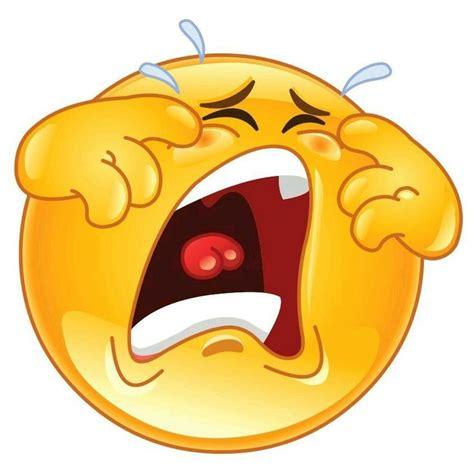 imagenes de emoticones llorando llorando caritas pinterest