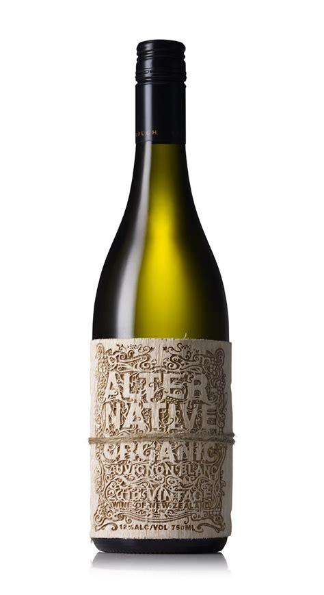 alternative organic wine  dieline packaging