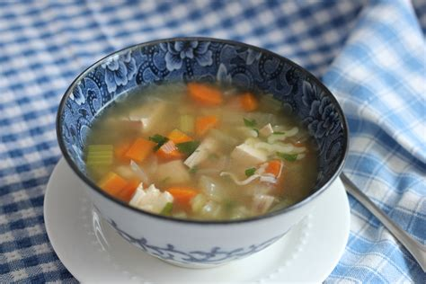 comforting chicken soup from homemade chicken or turkey stock to comforting