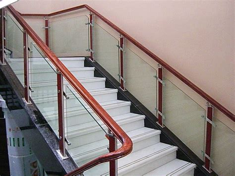 glass railings railing clear light green safety