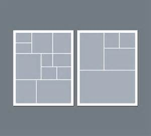 photo templates instant digital photo collage template 8 x 10