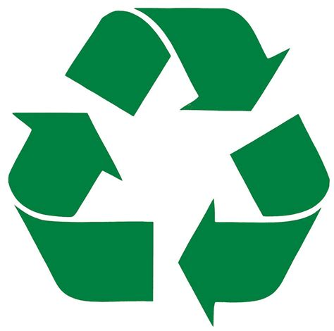 printable recycling images recycling stencil printable clipart best