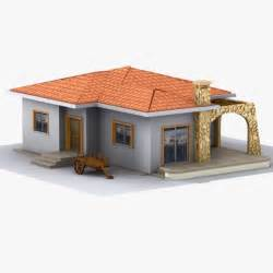 3d home modeling house home 3d model