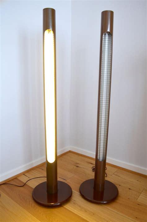 Pop Art Column Floor Lamps  Set    Sale  Pamono