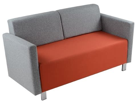 2 Seater Armchair by Comfy 2 Seater Armchair With Backs Specialist Furniture Contracts