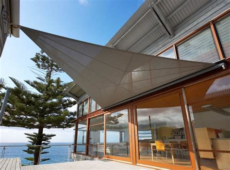 canvas sail awnings sails contemporary patio sydney by outrigger