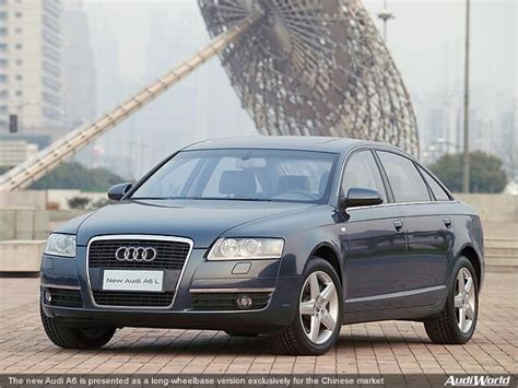 Radstand Audi A6 by New Audi A6 Presented As A Wheelbase Version
