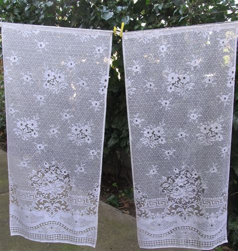 white lace curtain panels white lace window curtains french lace curtain panels