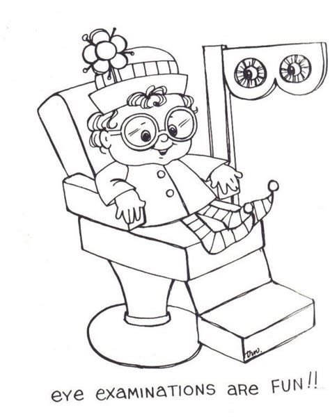 coloring pages eye doctor eye dr coloring sheets coloring pages