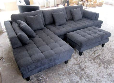 Gray Microfiber Sectional Sofa 17 Best Ideas About Gray Sectional Sofas On Living Room Cozy Apartment Decor And