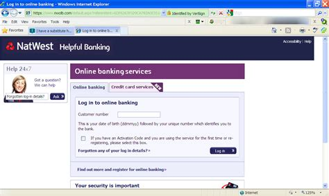 i a substitute home page for my banking how