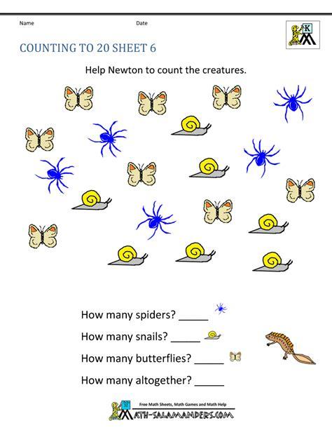 free printable worksheet for kindergarten math free printable kindergarten worksheets