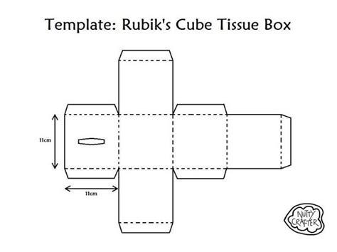 tissue box design template rubik s cube tissue box 2