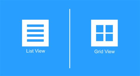 Home Design App For Laptop mobile ux design list view and grid view
