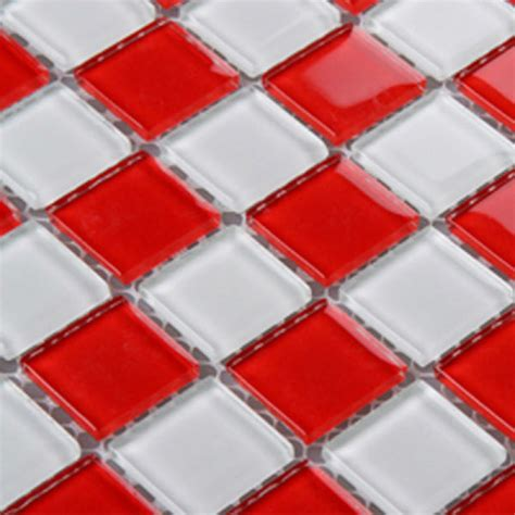 red and white tiles for bathroom red glass backsplash tile kitchen mosaic designs 3031 white crystal glass bathroom