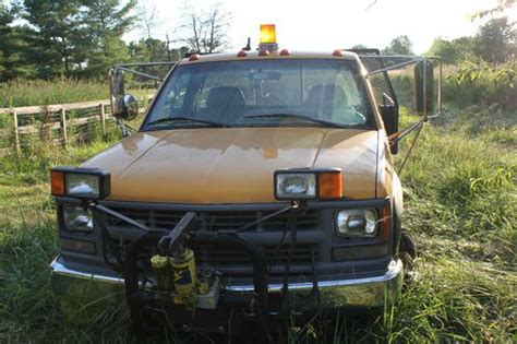 how to fix cars 1995 chevrolet 3500 regenerative braking sell used 1995 chevrolet k3500 with meyer snow plow for