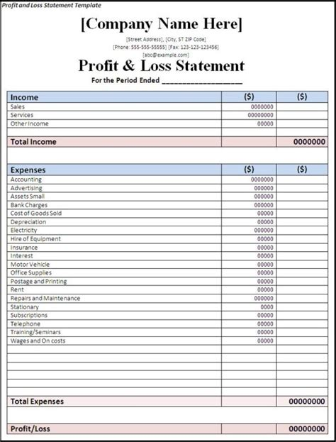 basic flow statement template simple income statement template spreadsheet templates for