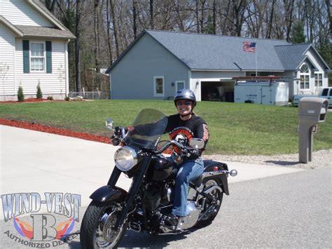 Harley Davidson Windshields by Windvest For Harley Davidson Fl Softail Models