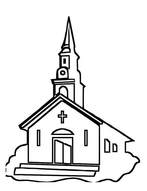 imagenes para colorear hospital dibujos de iglesias dibujos