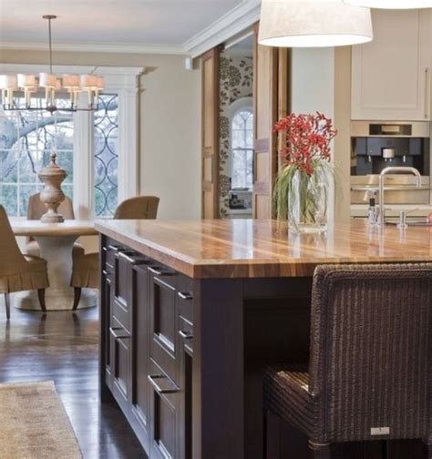 Kitchen Countertops Wood by Beautiful Wooden Countertops For The Kitchen