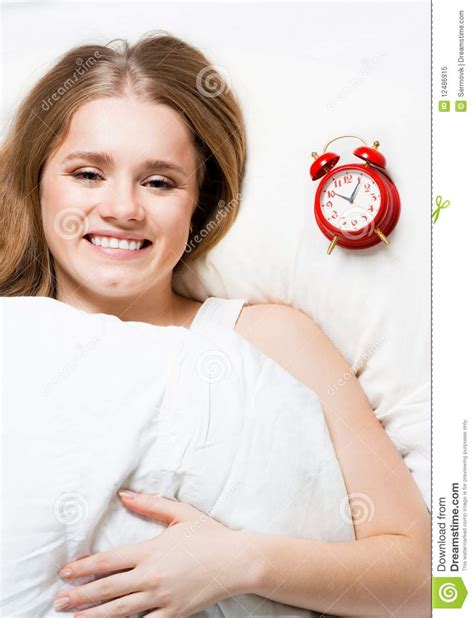 Who Sang Lay Your Upon Pillow by Lay On Pillow With Alarm Royalty Free Stock Photo