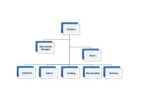 Membuat Struktur Organisasi Perusahaan | seri management distributor menciptakan struktur