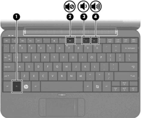 hp notebook pcs adjusting volume and sound settings in