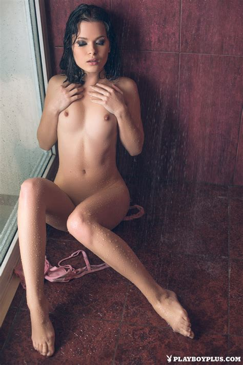 Alina Mayer Naked Shower Wet Playboy Redbust