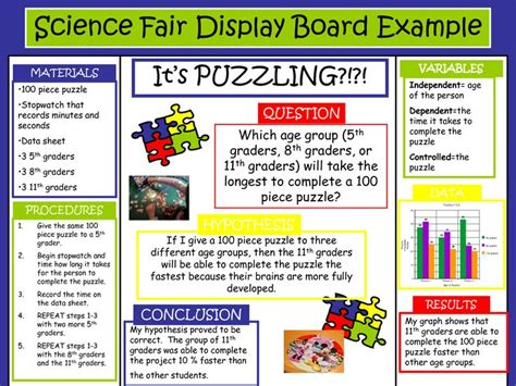 science fair display board exles search results