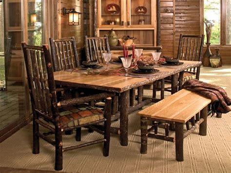 Rustic Dining Room Furniture Rustic Dining Room Furniture For Small Spaces Tedxumkc Decoration