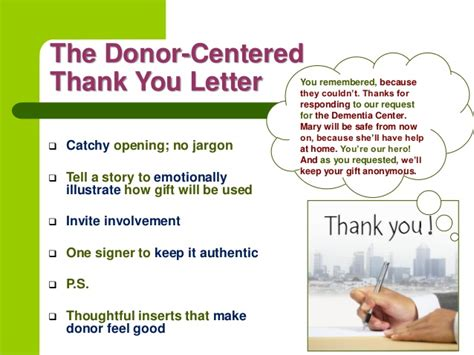 Thank You Letter For Blood Donation Creative Thank Yous Boost Donations With An Attitude Of