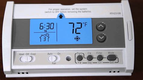 honeywell rth2310b 5 2 day programmable thermostat