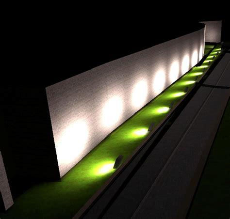 calcolo illuminazione illuminazione e restauro cinta muraria