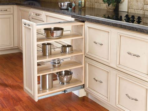 rev kitchen cabinets rev a shelf 432 bf 9c natural wood 432 series 9 quot base