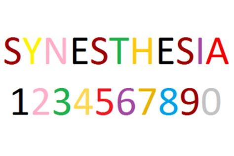 grapheme color synesthesia dear dish it is there something wrong with me
