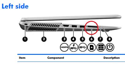 solved: where is the sd slot on my laptop? hp support