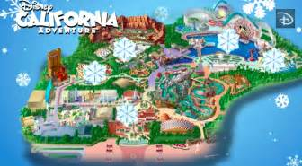 maps disneyland california mapping out the holidays disney california adventure park