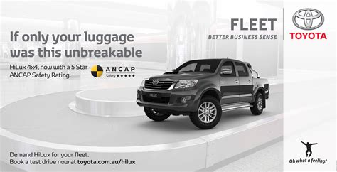 carousel toyota toyota outdoor advert by mercerbell hilux carousel ads