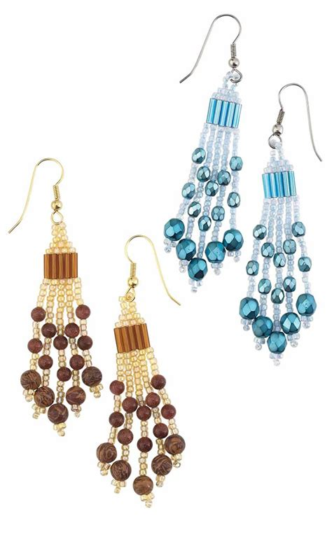 jewelry design earrings with gemstone