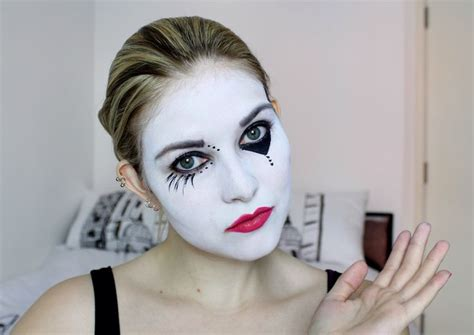 tutorial makeup mime 1000 images about clown mime makeup on pinterest
