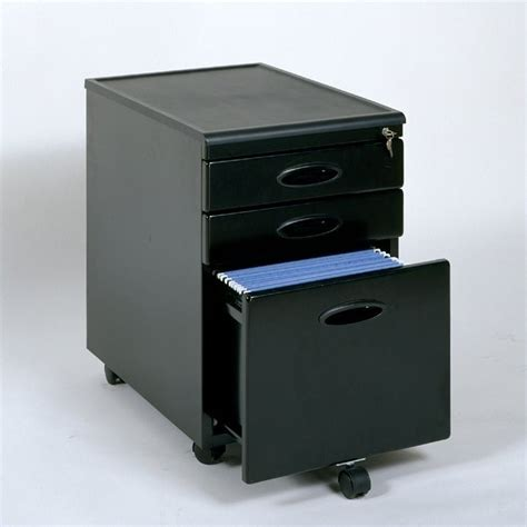 Metal 2 Drawer File Cabinet Studio Rta 2 Drawer Mobile Metal File Black Filing Cabinet Ebay