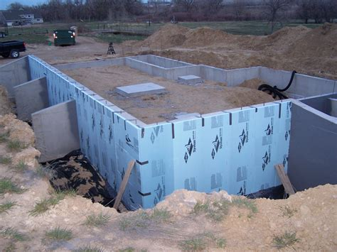 home construction perimeter drain droofing and