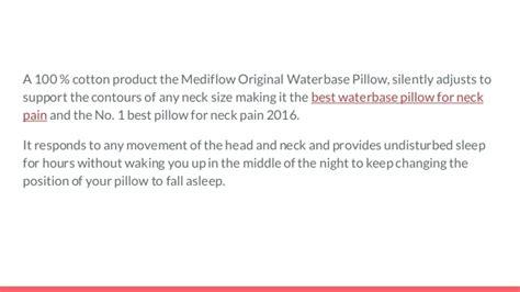 best pillow for neck pain 2016 best pillow for neck pain 2016