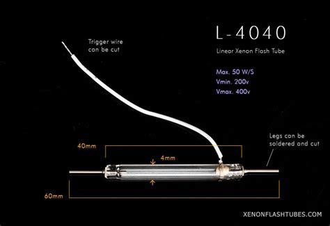 Xenon Flash L xenon flash l repair flashtube 4x40mm photo strobe